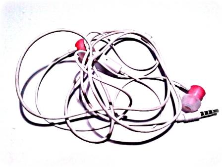 Auricolari rosa