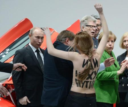 Femen e Putin